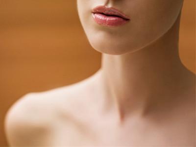 脸部脖子结构图