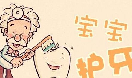 牙齿形状矢量图