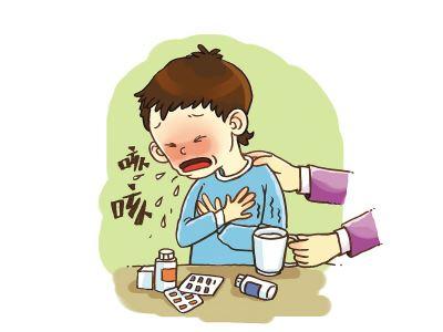 儿童咳嗽按摩退烧图解
