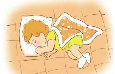 婴儿睡觉卡通图