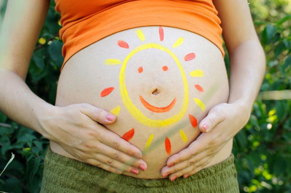 怀孕后一个月会来月经