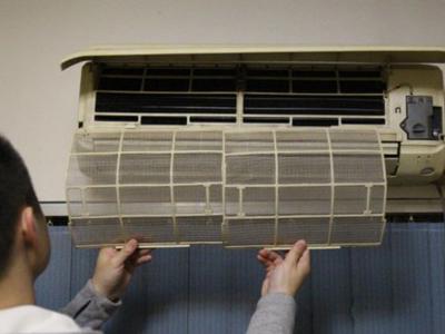 立式空调拆机步骤图解