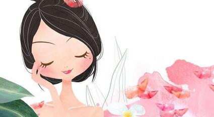 护肤图片素材 卡通