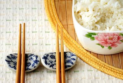 米饭简笔画带颜色