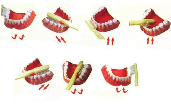 幼儿园刷牙海报手绘图