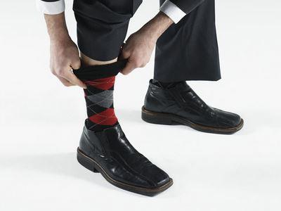 汗脚男穿袜子要注意的问题