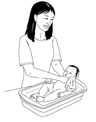 怎么给宝宝洗澡 注意七个小细节图片