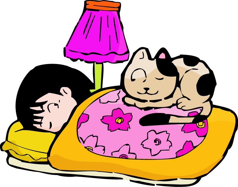 睡觉腰疼的图片可爱