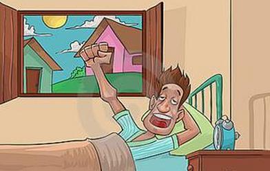 顺手打开窗户,在窗边站立片刻,吸几口清新的空气,给大脑提供充足的