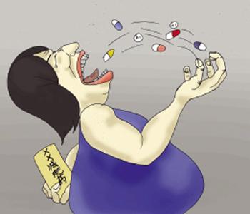 节食减肥危害大 当心引发多种疾