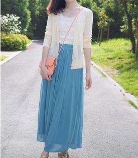 夏日气质长裙搭配
