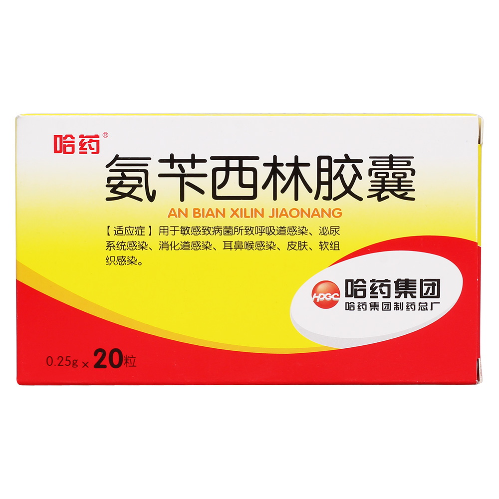 哈药总厂 氨苄西林胶囊