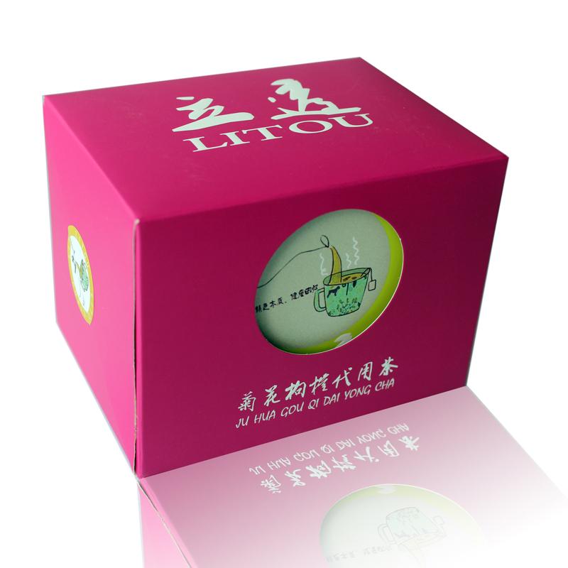 立透牌菊花枸杞代用茶
