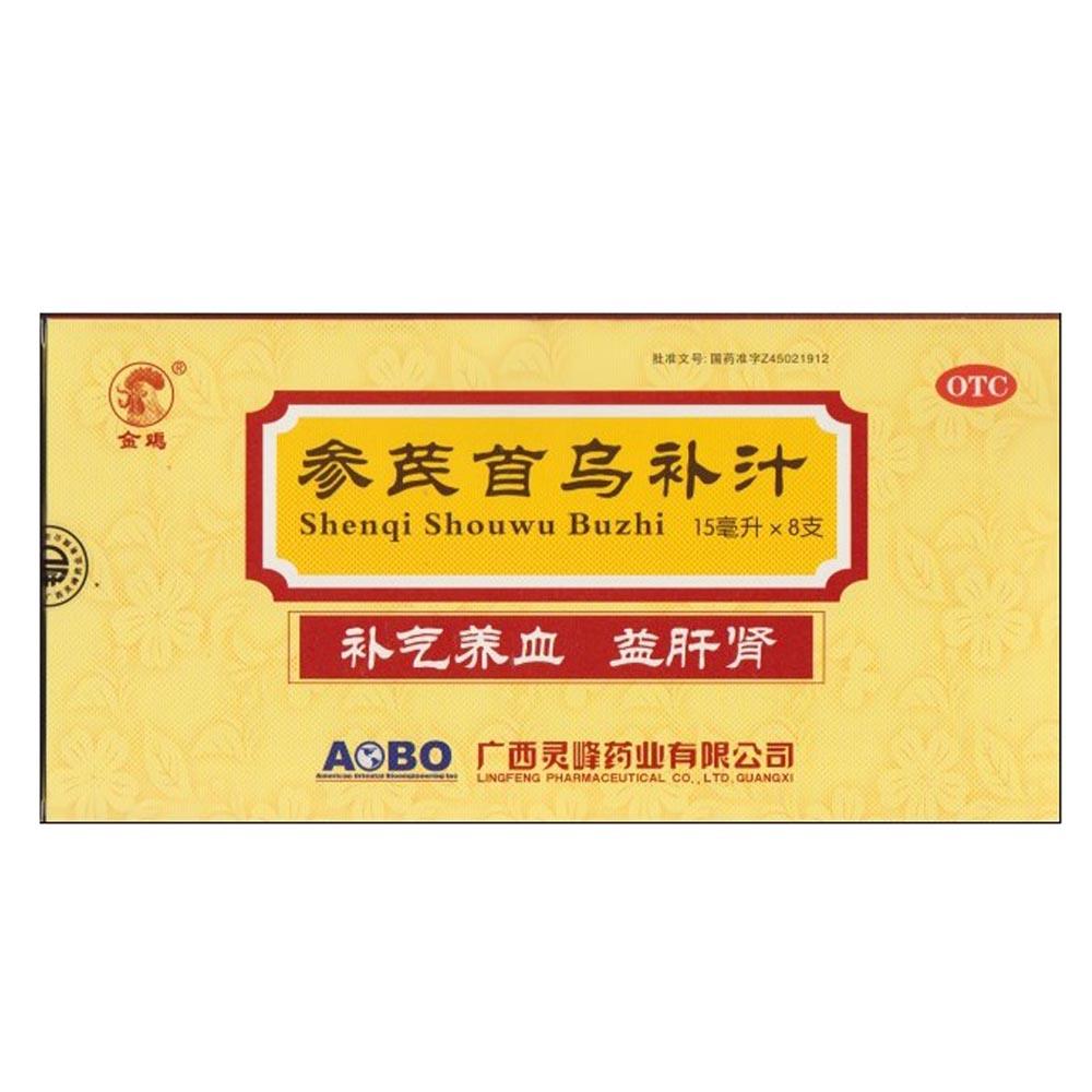参芪首乌补汁