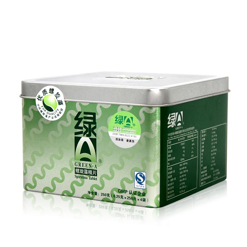 绿A天然螺旋藻精片 0.25g*1000片