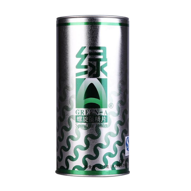 绿A天然螺旋藻精片 0.25g*500粒