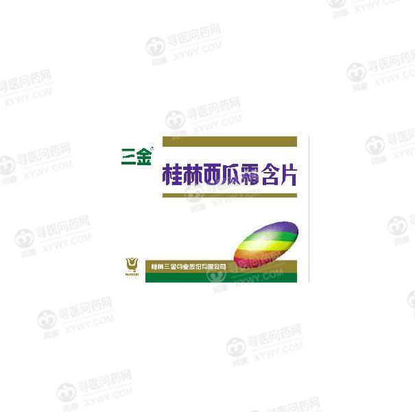 桂林三金 桂林西瓜霜含片