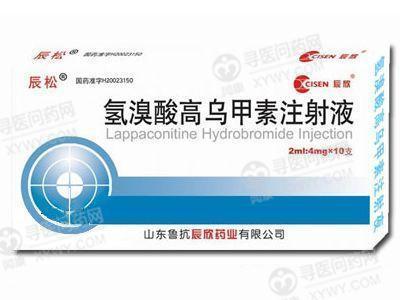 辰松 氢溴酸高乌甲素注射液