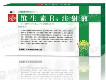 河南辅仁怀庆堂 维生素B6注射液