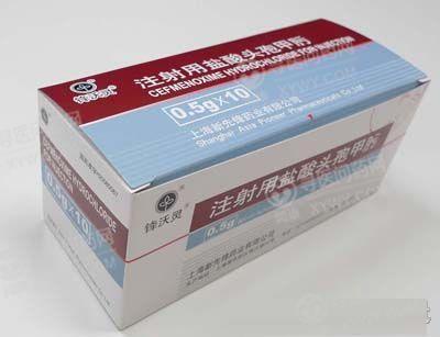 上海上药新亚药业 注射用盐酸头孢甲肟