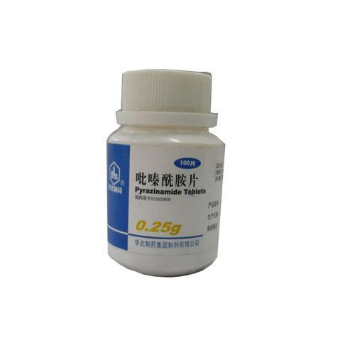 华北制药河北华诺 吡嗪酰胺片