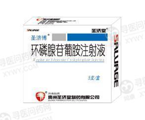 贵州圣济堂 环磷腺苷葡胺注射液