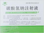 陕西京西 碳酸氢钠注射液