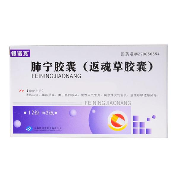 银诺克 肺宁胶囊(返魂草胶囊)