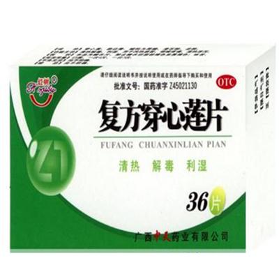 广西北部湾制药 复方穿心莲片