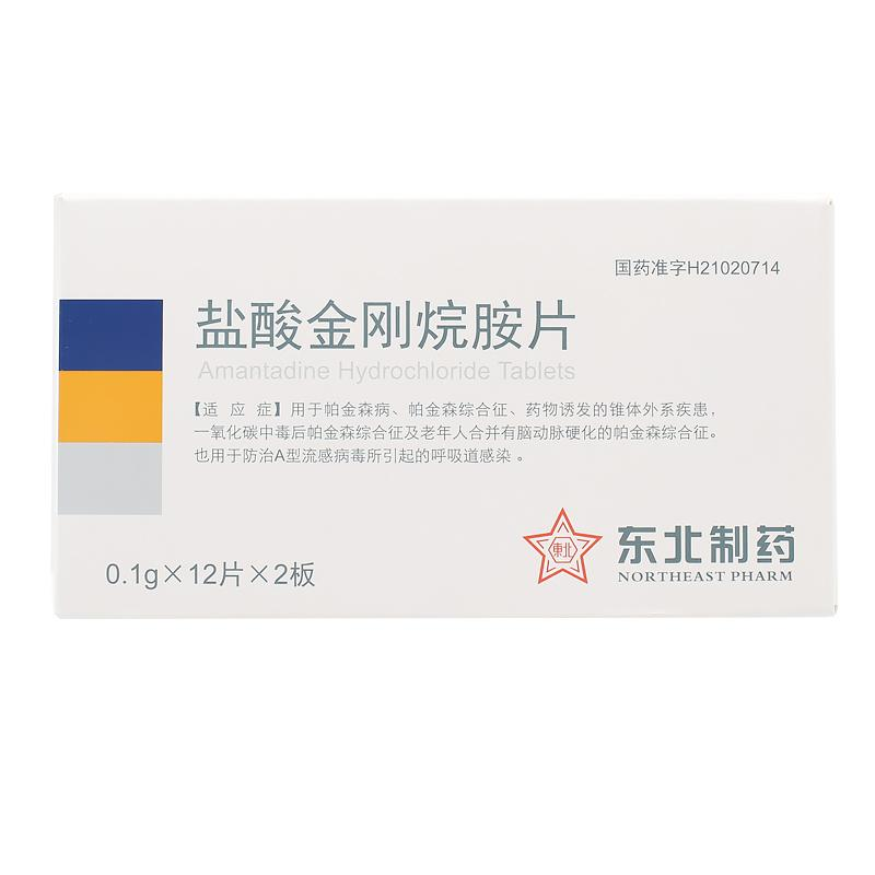 东北 盐酸金刚烷胺片