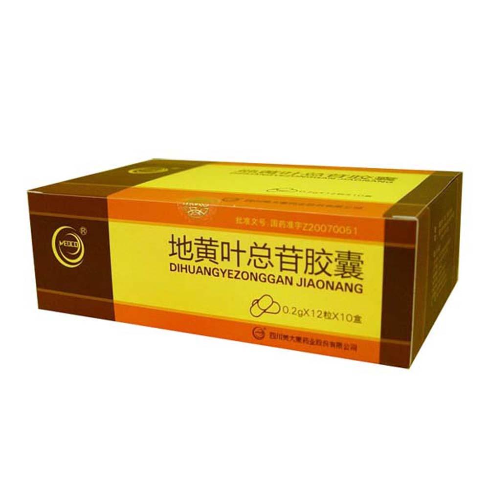 四川美大康 地黄叶总苷胶囊