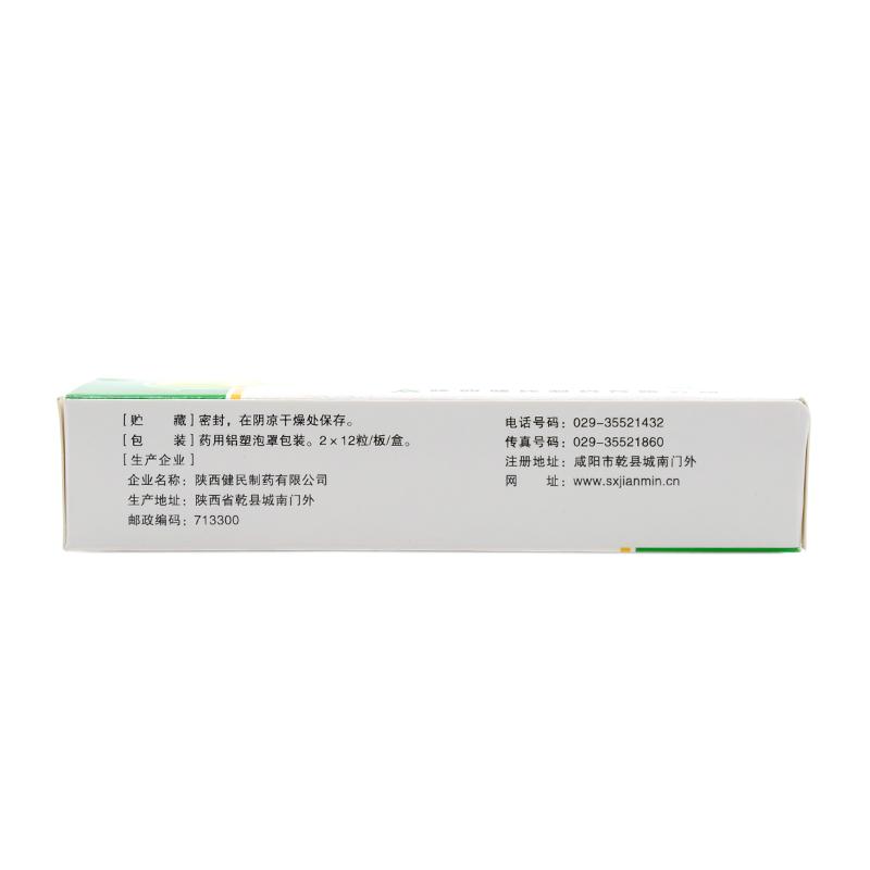 陕西健民 胆汁槟榔维B1胶囊