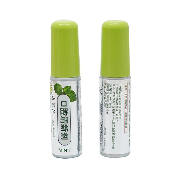 医家仁口气清新剂薄荷口腔喷雾去口臭异味持久清新20ml