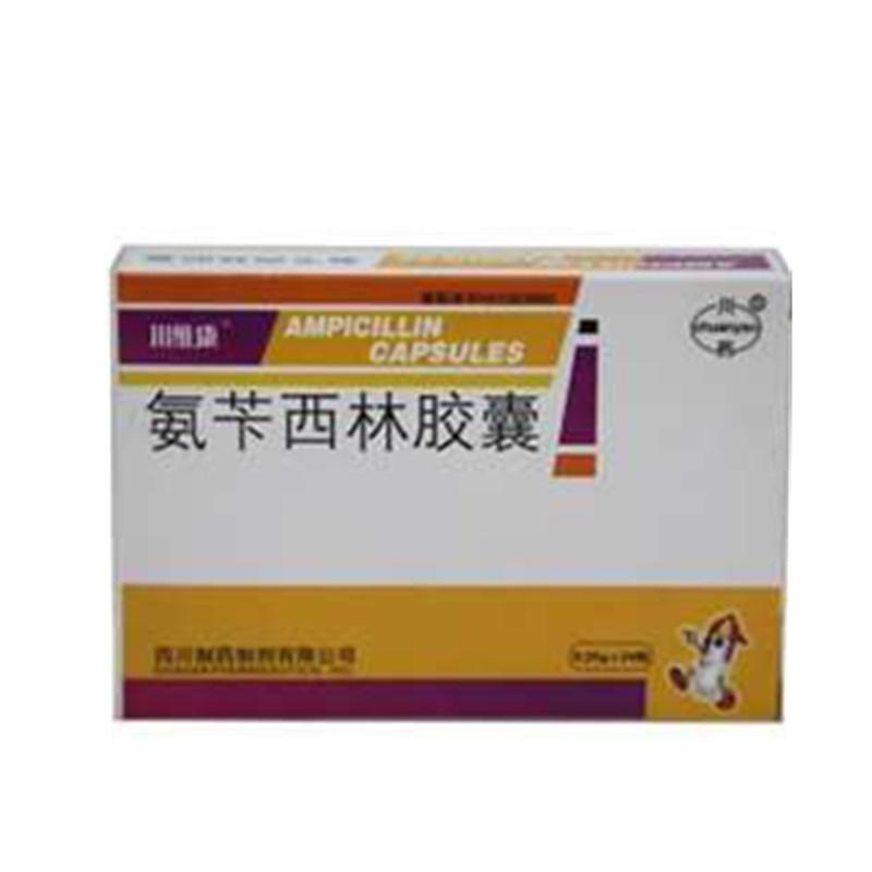 四川制药制剂 氨苄西林胶囊