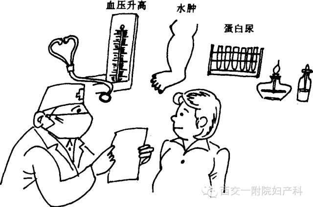 吸烟病人简笔画