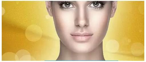 高清面部表皮结构